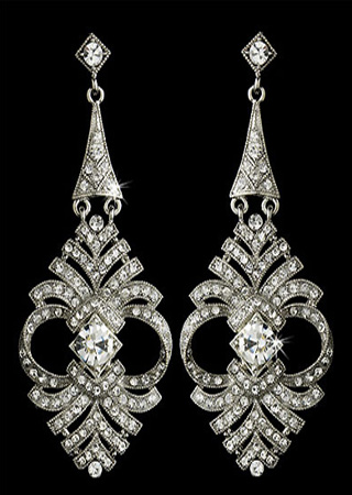 Beautiful High Quality Crystal Earring Sets Are A Por Choice For Brides To Give Bridesmaids As Thank You Gift